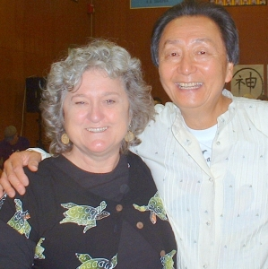 With Chungliang at Living Tao, Oregon