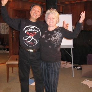 With Chungliang at Esalen, California